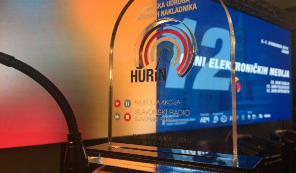 Slavonski radio osvojio HURiN-ovu nagradu za najbolju akciju