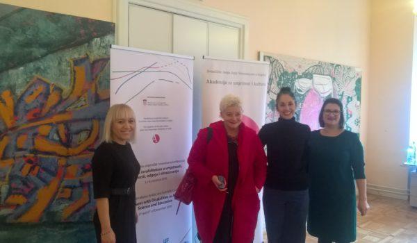 1. Međunarodna umjetnička i znanstvena konferencija – Osobe s invaliditetom
