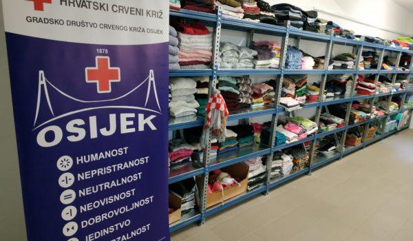 Crveni križ Osijek otvorio vrata Socijalnog servisa