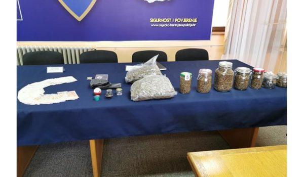 Velika zapljena droge u Osijeku i Đakovu