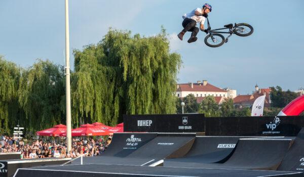 Ekstremni sportovi u Osijeku sredinom kolovoza