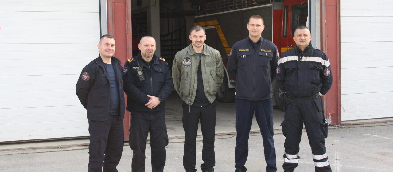 Osječki vatrogasci prikupili novac za petrinjskog kolegu