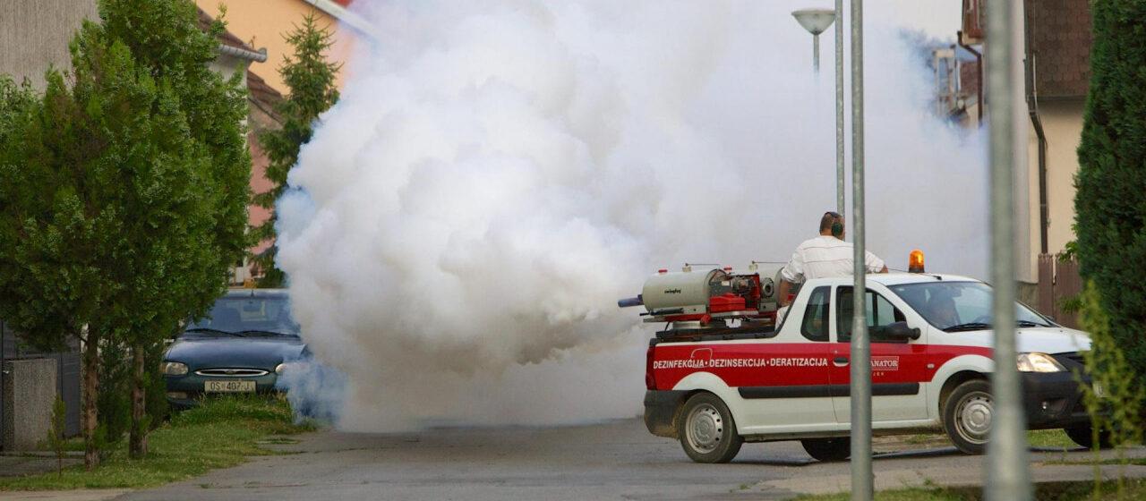 """Rat s komarcima – danas """"bombardiranje"""" zapadnog dijela grada, Tenje i Cvjetnog!!!"""