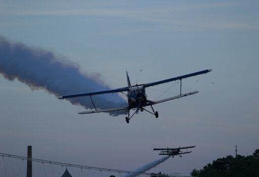 Napad na komarce i sa zemlje i iz zraka