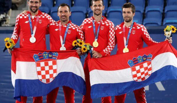 U hrvatskom finalu zlato za Mektića i Pavića, srebro Čiliću i Dodigu