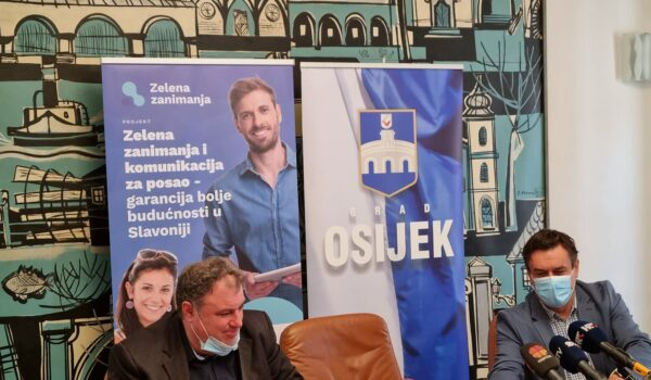Predstavljen novi EU projekt grada Osijeka i partnera – zelena zanimanja i komunikacija za posao